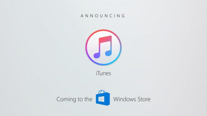 iTunes is coming to Windows Store