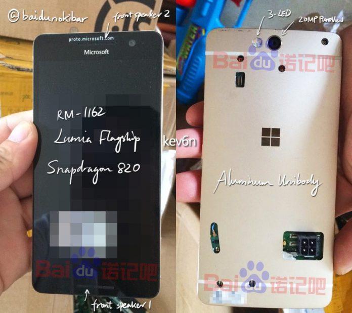MIcrosoft Lumia 960 aka Lumia Northstar